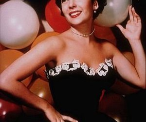 balloons and Elizabeth Taylor image