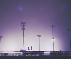 couple, stadium, and love image