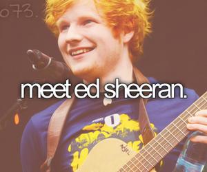 ed sheeran, before i die, and music image
