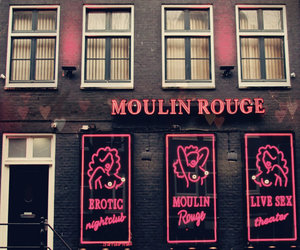 moulin rouge and pink image