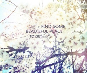 quote, beautiful, and lost image