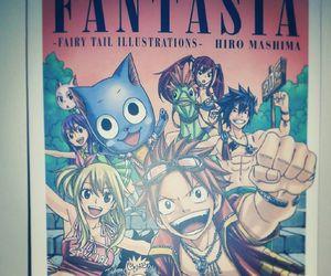 anime, fantasia, and artbook image
