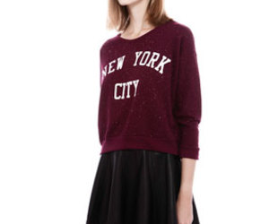 pull and bear, skirt, and sweat image