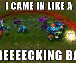 league of legends, renekton, and syndra image