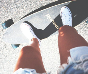 skate, fashion, and summer image