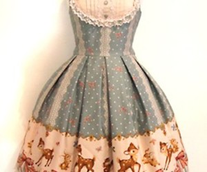 classic, deer, and dress image