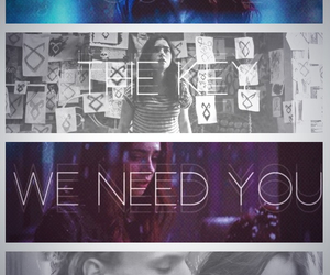 jace, clary, and love image