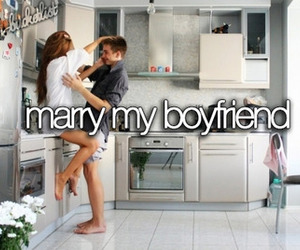love, boyfriend, and marry image
