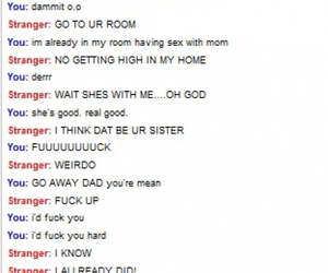 funny, omegle, and prank image