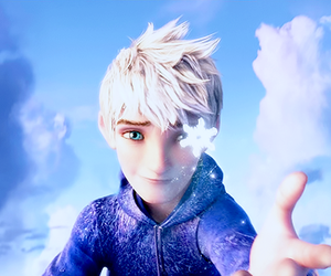 jack frost, blue, and snow image