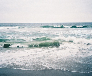 sea, ocean, and waves image