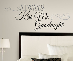 bed, design, and kiss me image