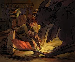 hiccup, cute, and dreamworks image