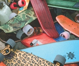 colorful and pennyboards image