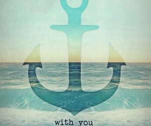 love, anchor, and forever image