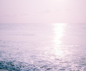 sea, beach, and water image
