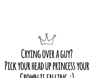 crown, princess, and quote image