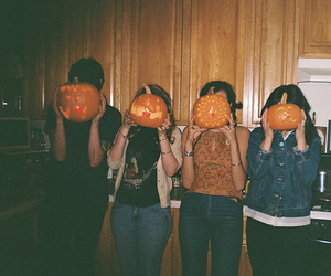friends, Halloween, and photography image