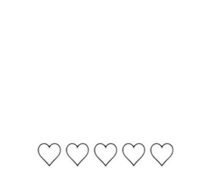 black&white, headers, and hearts image