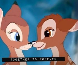 bambi, couple, and disney image