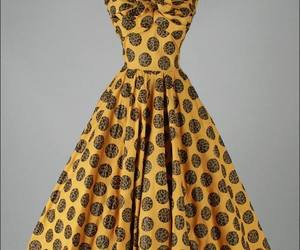 dress, vintage, and cute image