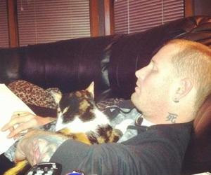 cat, slipknot, and corey taylor image