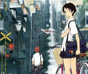 anime, movie, and toki wo kakeru shoujo image