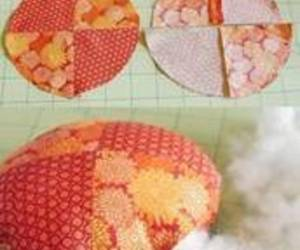 diy, pincushion, and pumpkin image
