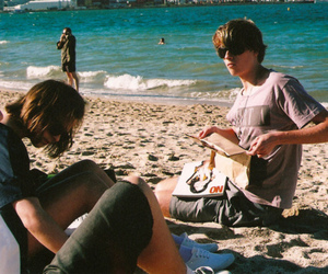 beach, boy, and indie image