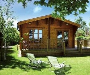 heathside lodges, log cabins suffolk, and lodges in suffolk image