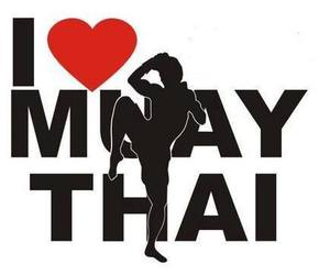 <3, boxing, and muay thai image