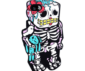 iphone, skeleton, and iphone 5 image