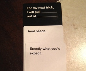 amusing, cool, and cards against humanity image