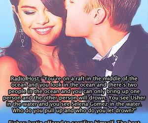 fact, selena gomez, and justin bieber image