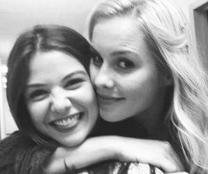 claire holt, danielle campbell, and The Originals image