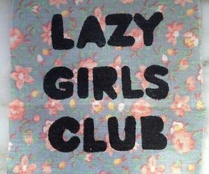 Lazy, girl, and club image