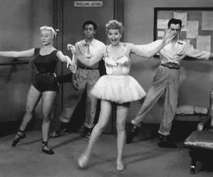ballet, I Love Lucy, and comedian image