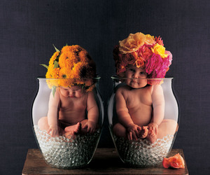 baby, flowers, and anne geddes image