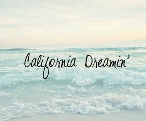 california, beach, and Dream image
