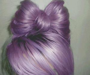 beautiful, style, and cabello violeta image