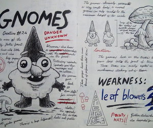 gravity falls and gnomes image