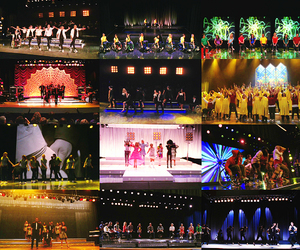 colorful, glee, and performance image