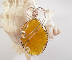 handmade jewelry, necklace, and pendant image