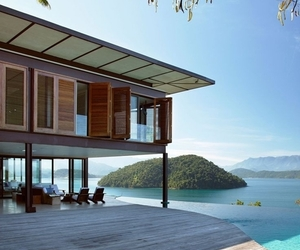 home, luxury, and sea image