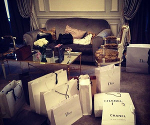 chanel, dior, and shopping image