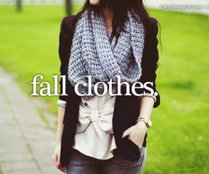 clothes, fall, and love image