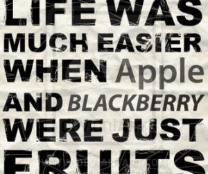 apple and blackberry image