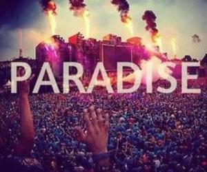 paradise, Tomorrowland, and party image
