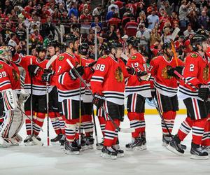 Ice Hockey, nhl, and blackhawks image