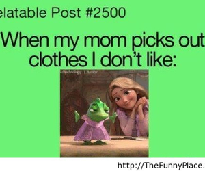 mom, funny, and clothes image